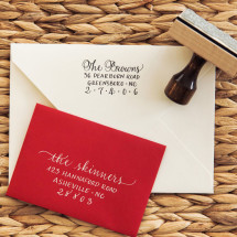 Custom Calligraphy Custom Stamp