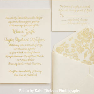 Calligraphy by Carole Invitations
