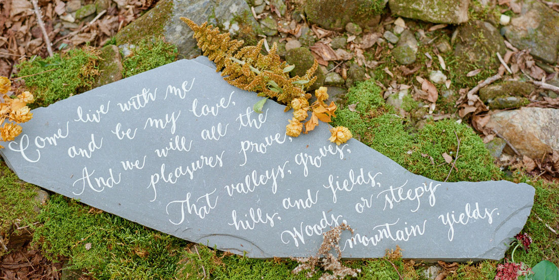 Calligraphy by Carole Wedding Calligraphy Custom Signage