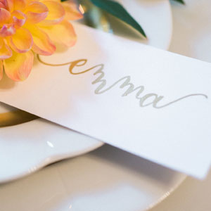 Calligraphy by Carole Custom Calligraphy