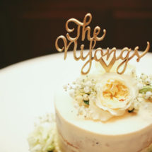 Custom Laser Cut Cake Topper