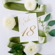 Custom Table Number